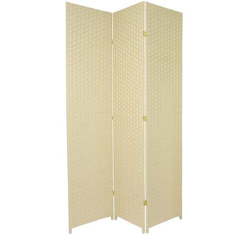 7ft room divider 7 ft woven fiber room divider ebay