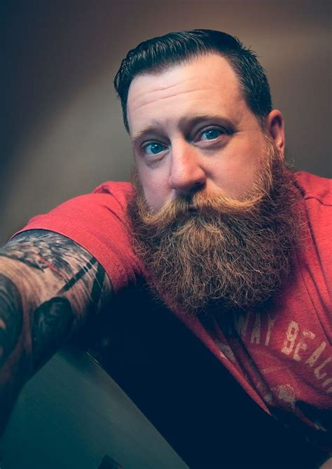 tattoo beard thick beard and big styled mustache handsome