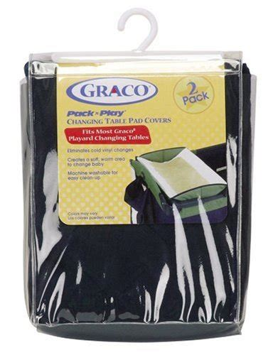 Graco Pack N Play Changing Table Cover Graco Changing Table Pad Covers 2 Pack Navy
