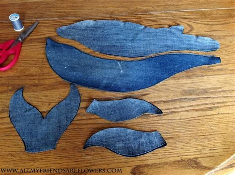 jeans whale pattern denim whale tutorial printable pattern