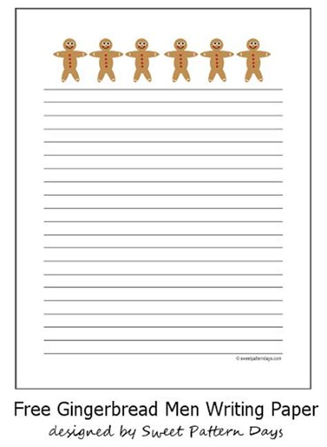 pattern writing paper pin by sweet pattern days on christmas printables pinterest