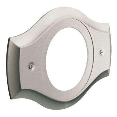 Shower Faucet Cover Plate by Escutcheons Flanges Faucet Parts Repair The Home Depot