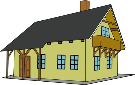 house image clipart house 1