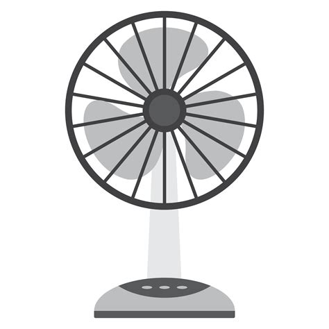 clip on electric fan electric fan vector clipart image free stock photo