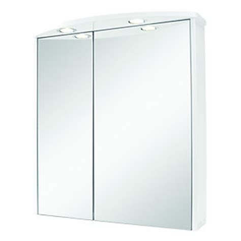 wickes bathroom illuminated mirror cabinet white