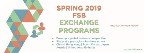 International Exchange Mba Programs by Global Studies Farmer School Of Business Miami