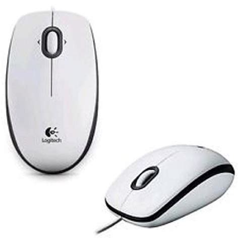 Logitech Optical Mouse Usb B100 logitech b100 mouse usb wired optical 800dpi 3 button