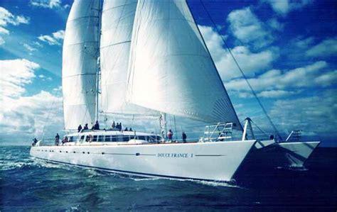 catamaran charter france catamaran douce france yacht charter superyacht news