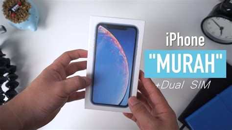 unboxing iphone xr indonesia quot murah quot dual sim 4k
