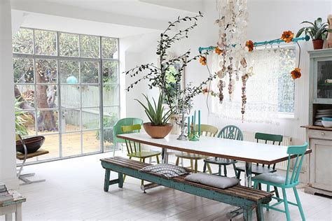 interiors scout modern bohemian home  london   scout