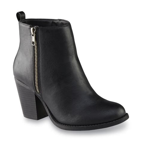 attention s auden black bootie shoes s