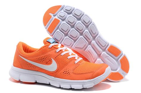 nike flex experience rn womens running shoes orange white