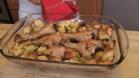 In The Kitchen Recipes by Roasted Chicken And Potato Bake Recipe By Vitale