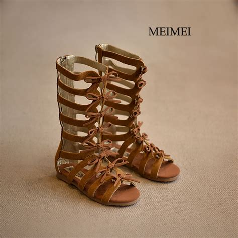 gladiator sandals for toddler 2016 summer boots high top fashion sandals