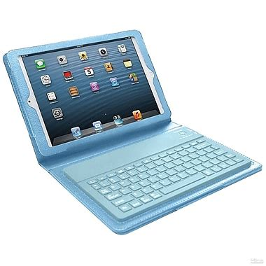 bluetooth keyboard case for ipad mini, blue | staples®