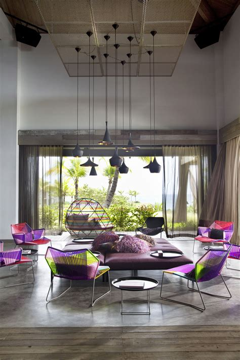 Design Furniture For Home by W Vieques Hotel Patricia Urquiola