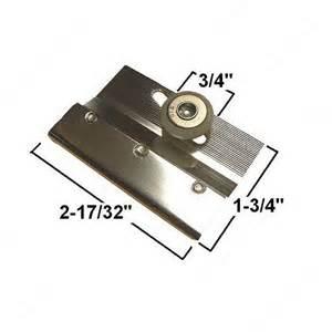 shower door hardware replacement parts 6 mm glass shower door roller richelieu hardware