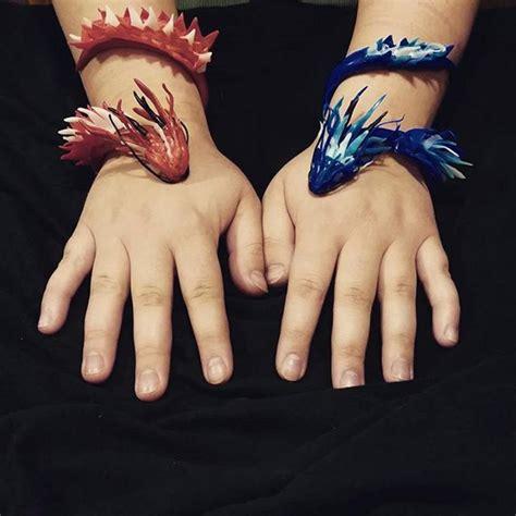 dragon bracelets plastimake