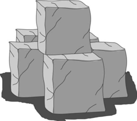 Stone Brick by Stone Blocks Clip Art At Clker Com Vector Clip Art