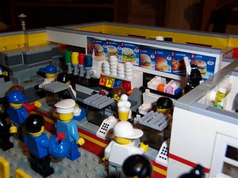 Lego Mac Donal moc mac donald s lego town eurobricks forums