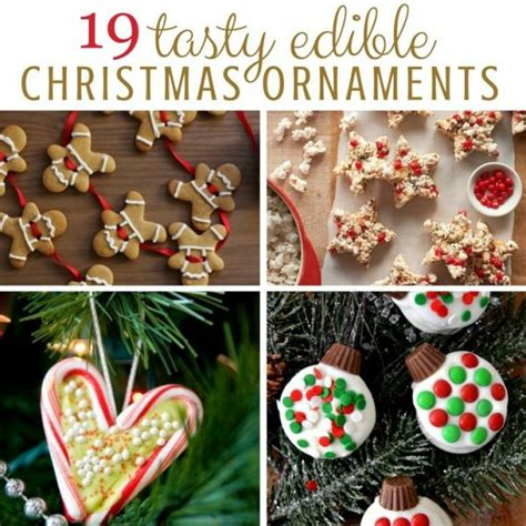 kids crafts edible christmas ornaments red ted art s blog