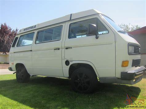 volkswagen vanagon 1987 vw westy vanagon 1987