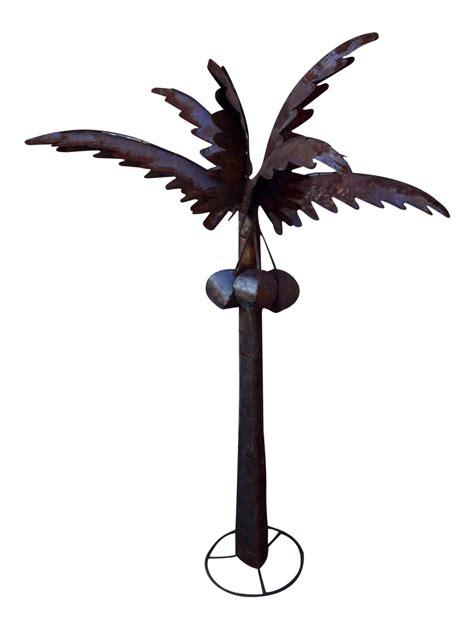 metal palm tree l metal palm tree sculpture chairish