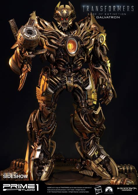 Transformers Gold transformers galvatron gold version statue by prime 1