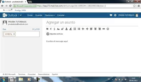 Hotmail Email Search Not Working Enviar Correo Electr 211 Nico Con Outlook Antes Hotmail
