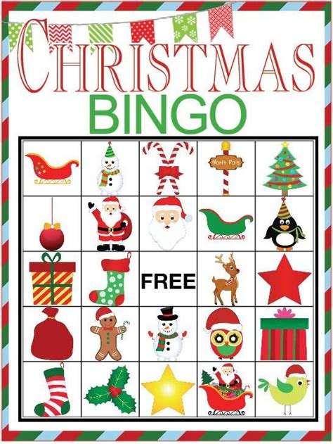 printable holiday bingo games christmas bingo printable game bingo christmas bingo