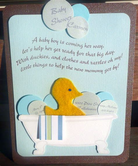 handmade baby shower invites boy 2 how to create unique baby shower invitations free