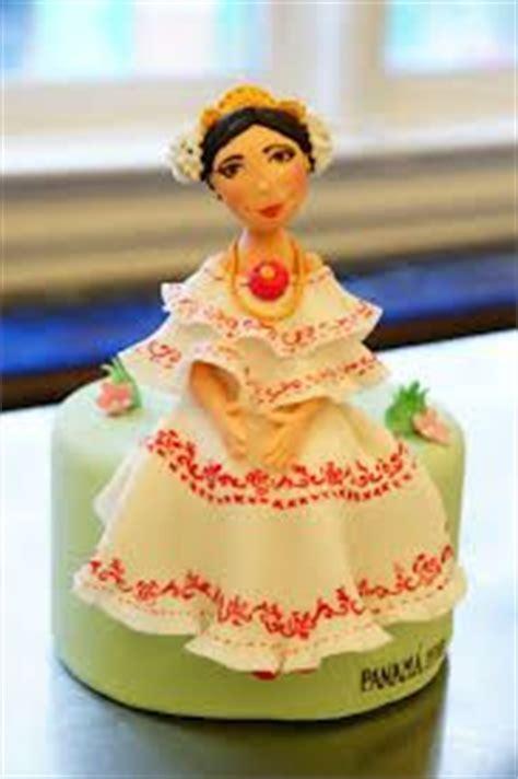 pollera wedding cake | panamanian wedding/ boda tipicas