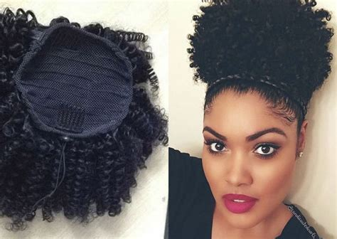 afro hairstyles diy 55 best afro puff ponytail images on pinterest haircuts