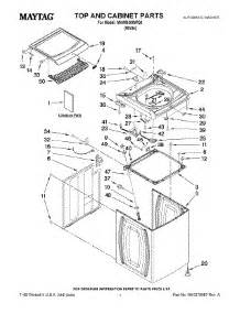 maytag bravos dryer parts diagram parts for maytag mvwb300wq0 washer appliancepartspros