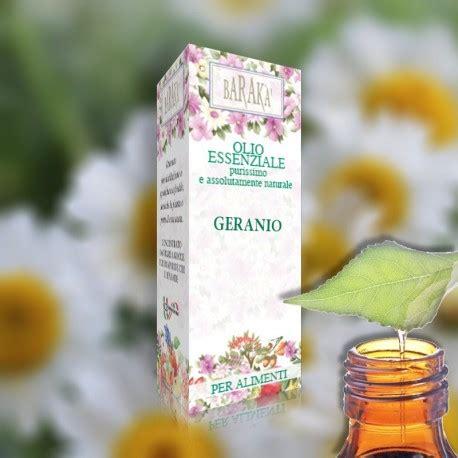 oli essenziali uso alimentare olio essenziale geranio alimentare 12ml