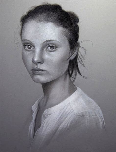 pencil portrait drawing 40 beautiful and realistic portrait drawings for your