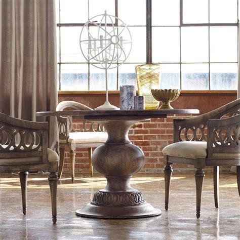 """Hooker Furniture Melange 48"""" Cambria Round Pedestal Dining"""