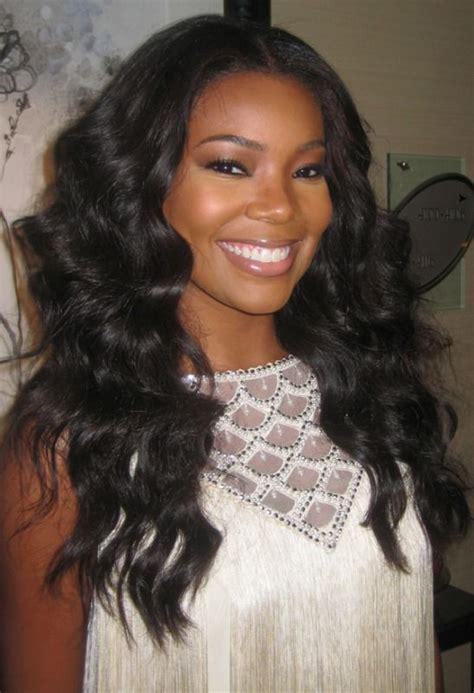 how many inches is gabrielle union weave pinterest the world s catalog of ideas