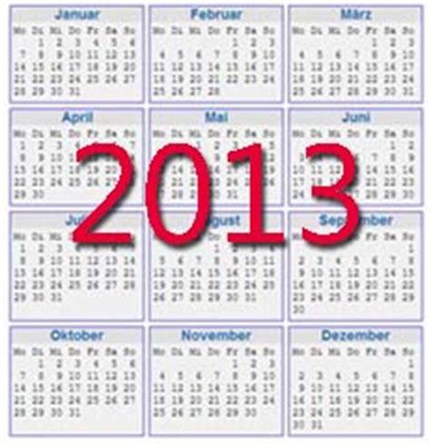kalender vorlagen 2013 zum ausdrucken kostenlos