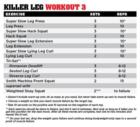 killer legs performance