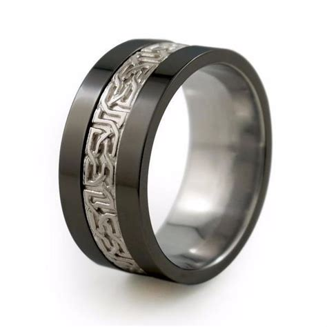 Titanium Rings by Mens Collection Titanium Rings
