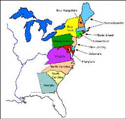 united states 13 colonies map yesh li so it s friday the 13th so what