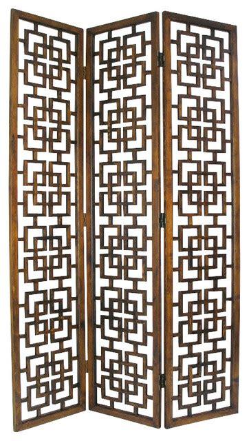 asian screen room dividers wayborn oakwood room divider brown asian
