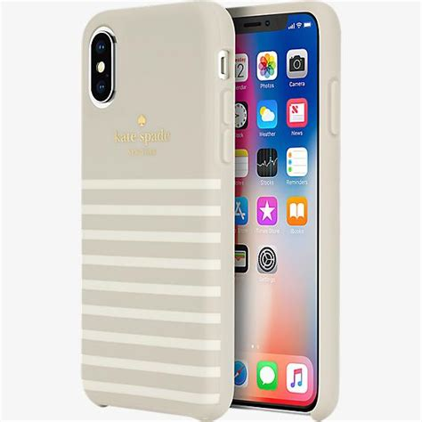 kate spade new york kate spade new york protective soft touch for iphone xs x verizon