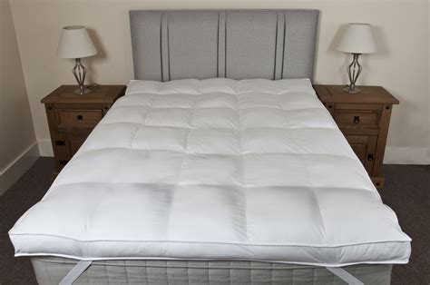 Thick Mattress Topper by Slight Seconds Hotel Luxury 100 Cotton 10cm Thick