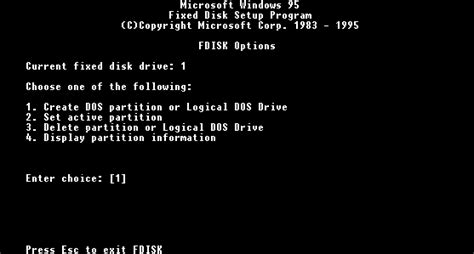 format hard disk ms dos powerspec support archive reinstalling w95 partition and