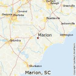marion carolina map best places to live in marion south carolina