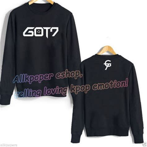 Jaket Kpop Got7 kpop got7 jackson hoodie sweater pullover from allkpopers