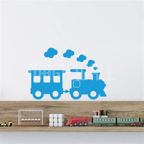 engine wall stickers wall decals steam engine wall stickers
