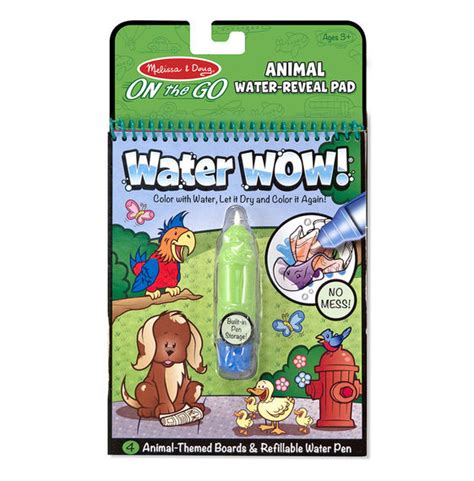 water wow animals on the go travel activity doug